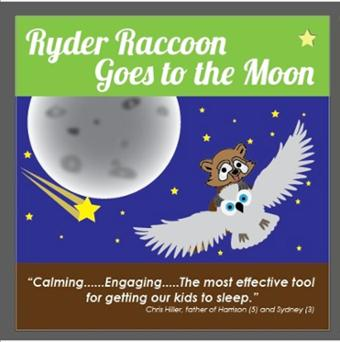 Ryder Raccoon Goes to the Moon